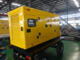 Type mobile générateur 20kw - 400kw de remorque de centrale de roue