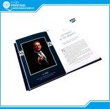 Libro de la foto del paisaje del Hardcover de la alta calidad de la impresión