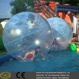 0.7~1.0 mm Belüftung-/TPU Wasser-Park-menschliche Wasser-Luftblasen-Kugel