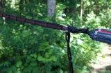 Porte l'ensemble de 2 courroies faciles légères d'hamac d'installation de courroies durables