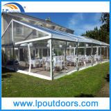 200 People를 위한 10X20m Transparent Clear Tent Party Wedding Tent