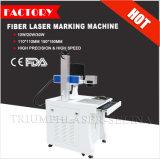 Marca de la insignia de la placa de identificación, mini grabado del anillo de los números, máquina de la marca del laser de la fibra