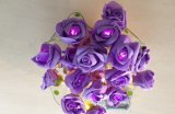 Indicatore luminoso del fiore del LED Rosa, fiore di illuminazione del LED