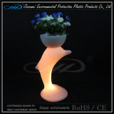 Flowr Pot LED Furniture com material PE