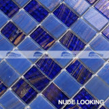 Het donkerblauwe Smeltende Mozaïek van het Glas in het Patroon van de Band van de Stapel (BGZ015)
