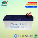 AGM Long Life 12V 150ah Gel Battery pour Solar Street Light System