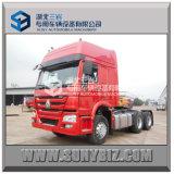 Rhd Sinotruck HOWOのトラクターのトラックの貨物トラクターのダンプトラック