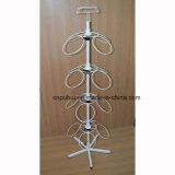 4 Capa de bucles de metal del soporte de exhibición (PHY2049)