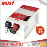 Lcd-Bildschirmanzeige-eingebauter MPPT Solarcontroller 45A oder 60A des reinen Sinus-Welle PV-Solarinverter-