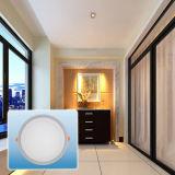 Светильник УДАРА Light/LED нового цвета конструкции холодного белого двойного круглый