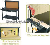 Industrieller Werktisch-Hilfsmittel-Hochleistungstisch mit Kolben-Funktion und Eichen-Oberseite (YH-WT005)