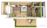 Container House Prefab/Prefabricated/Mobile/Modified/Modify/modulare per Holiday