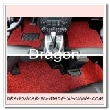 PVC Coil Car Floor Mat mit Spike Backing