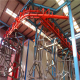 Elevador galvanizado Sc200/200 dobro da construção da gaiola