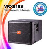 voz passiva de 8ohms 800W Vrx918s altofalantes do baixo do DJ de 18 polegadas