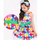 Fashion Polka DOT Baby Girl Lovely Princess Dress Enfants Wear