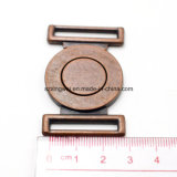 Vintage su ordinazione Metal Alloy Red Copper Buckle Dress Buckle per Lady