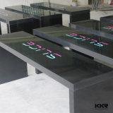 Furniureの旧式な固体表面8のSeaterのダイニングテーブル(T1608173)