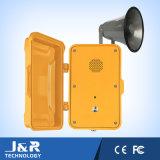 ПогодостойкmNs телефон громкоговорителя телефона непредвиденный телефона загерметизированный напольный