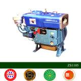 Motor refrigerado por agua Zh1125 de la buena calidad