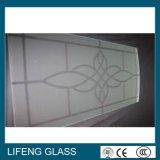Низким травленое стекло утюга замороженное Sandblast кисловочное