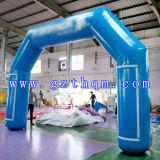 Voûte gonflable de Velcro/voûte gonflable bleue/voûte gonflable d'ouverture