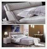 가정 침실 가구 현대 편리한 2인용 침대 연약한 가죽 침대 (9505)