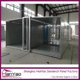 Casa modular modificada para requisitos particulares alta calidad del contenedor de la estructura de acero