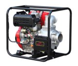 Водяная помпа 4 дюймов тепловозная с стартером Electry (DP40E)