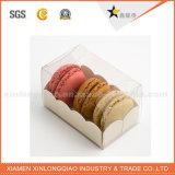 Macaron를 위한 절묘한 명확한 애완 동물 Palstic 포장 상자