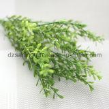 El plástico sale de la flor de Aritificial para la boda/la decoración casera/del jardín (SF16293)