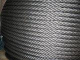 Морские гальванизированные веревочки стального провода