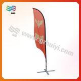 Напольный флаг пляжа знамени летания Teardrop полного цвета (HY-AF567)