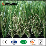 Tapete artificial barato por atacado da grama de China para o jardim ao ar livre