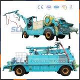 Braço de pulverização dobrável e telescópico, braço de pulverização molhada, Trolley