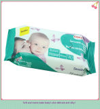 Fábrica Price Packed 80PCS Baby Care Wipes