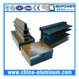 O perfil de alumínio com OEM diferente dá forma ao revestimento excelente de PVDF