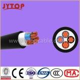 Yvz4V / Nyby cable, 0,6 / 1 Kv PVC cinta de doble aislamiento de acero blindadas, cables multipolares con conductor de cobre