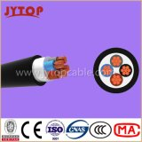 Yvz4V / Nyby Câble, 0,6 / 1 Kv PVC Insulated Double Steel bande blindés, câbles multi-Core avec Cuivre