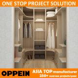 Oppein Australien Projekt-Melamin-hölzerner Speicher-Schlafzimmer-Wandschrank (YG14-M02)