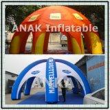 Tienda inflable comercial de las piernas de la araña para la publicidad al aire libre