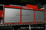 Алюминиевая дверь гаража для тележки