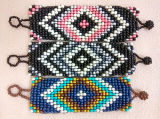 Breites Seedbead handgemachtes Böhmen Armband