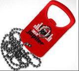 Metallflaschen-Öffner zerteilt Haar-Decklack-roten Flaschen-Öffner