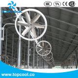 """50 """" ventilador del panel de la recirculación de 1.5HP 460V 60Hz 3pH para el ganado"""