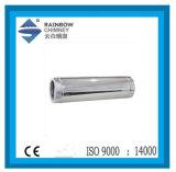Edelstahl-gerades Rohr für Kamin-Rohr - 38 Kamin-Rohr