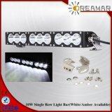 barre simple d'éclairage LED de rangée d'endroit de 17inch 90W