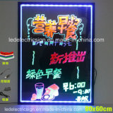 LED Hand Writing Boards para Shop Advertizing Display con Menu Board y el precio de los alimentos List de Fast