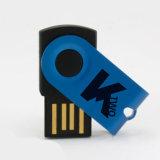 Mini chiave del USB della mini parte girevole girano la memoria del USB