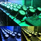 Colorer la lumière extérieure changeante de PARITÉ de 54 3W DEL